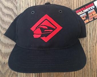 530d37979cf Vintage 90s Deadstock Marlboro Cigarettes Tobacco Hat Strapback Hat  Baseball Cap