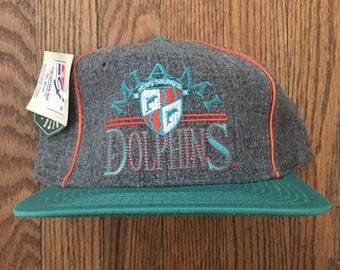 good vintage 90s deadstock the game miami dolphins nfl snapback hat  baseball cap 47477 0e2d3 20ab24503