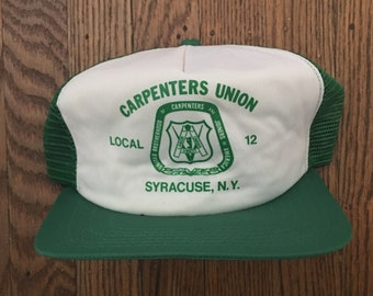 3b770dae Union made hat   Etsy