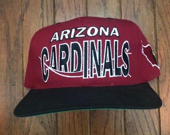 ce6dcf8ac Vintage arizona cardinals hat | Etsy