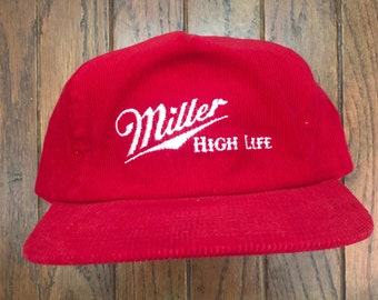 9ffbe4b0f Miller high life hat | Etsy