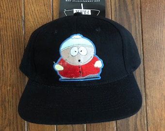 2a977138656d6 Vintage 90s Deadstock Cartman South Park Cartoon Snapback Hat Baseball Cap