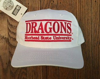 a385d328bf7 Vintage 90s Deadstock The Game Morehead State University Snapback Hat  Baseball Cap