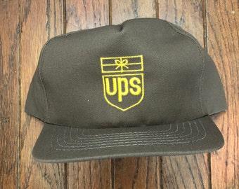 56e1a0bb4 Ups hat | Etsy