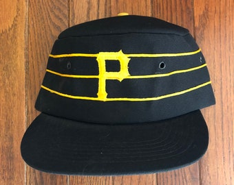 2d4e468e530 ... coupon code for vintage 80s 90s pittsburgh pirates pillbox mlb snapback  hat baseball cap 1aa46 f006c