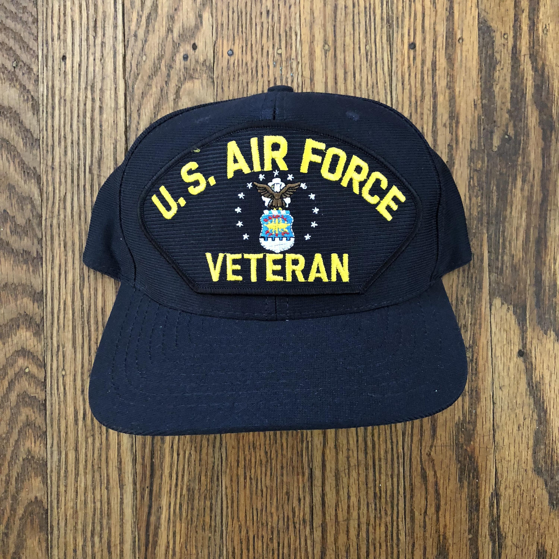 Vintage US Air Force Military Veteran Snapback Hat Baseball 29e9017fecc