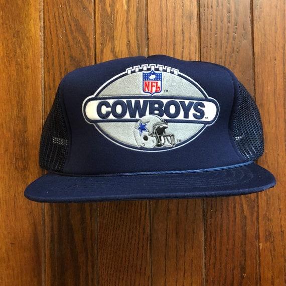 ... clearance vintage 90s dallas cowboys nfl mesh trucker hat snapback hat  baseball cap f1ae6 d4e4d cafbac02b