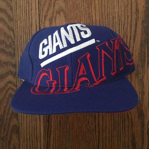 Vintage 90s The Game New York Giants NFL Snapback Hat Baseball  f8dddedd8