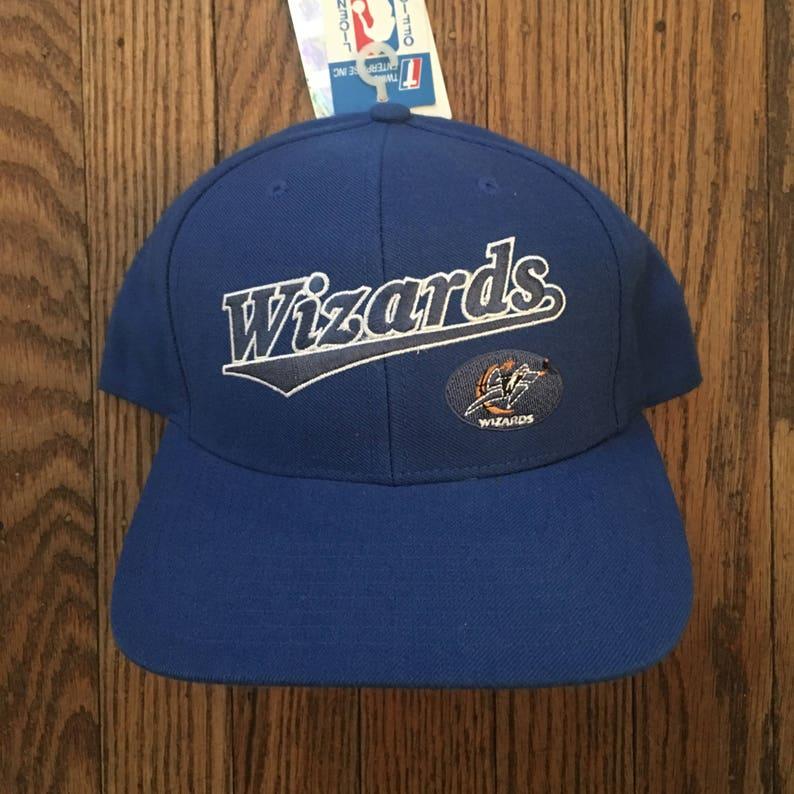 fd75f76117c Vintage 90s Deadstock Washington Wizards NBA Snapback Hat