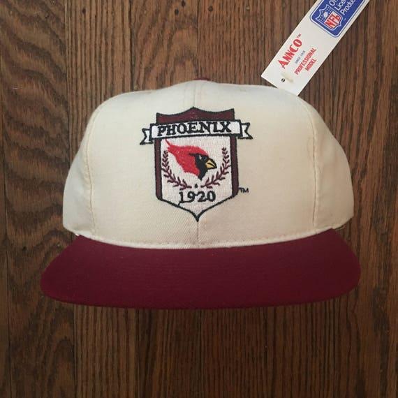 Vintage 80s 90s Deadstock Phoenix Cardnials NFL Snapback Hat  32ee333c6695