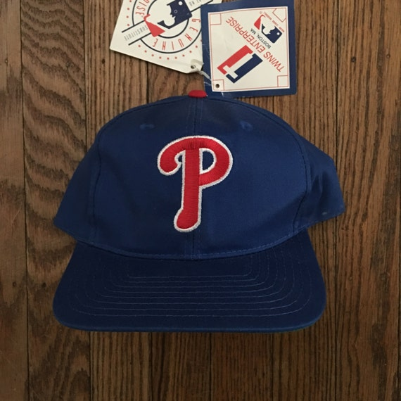 cc981938052fa Vintage 90s Deadstock Philadelphia Phillies MLB Snapback Hat