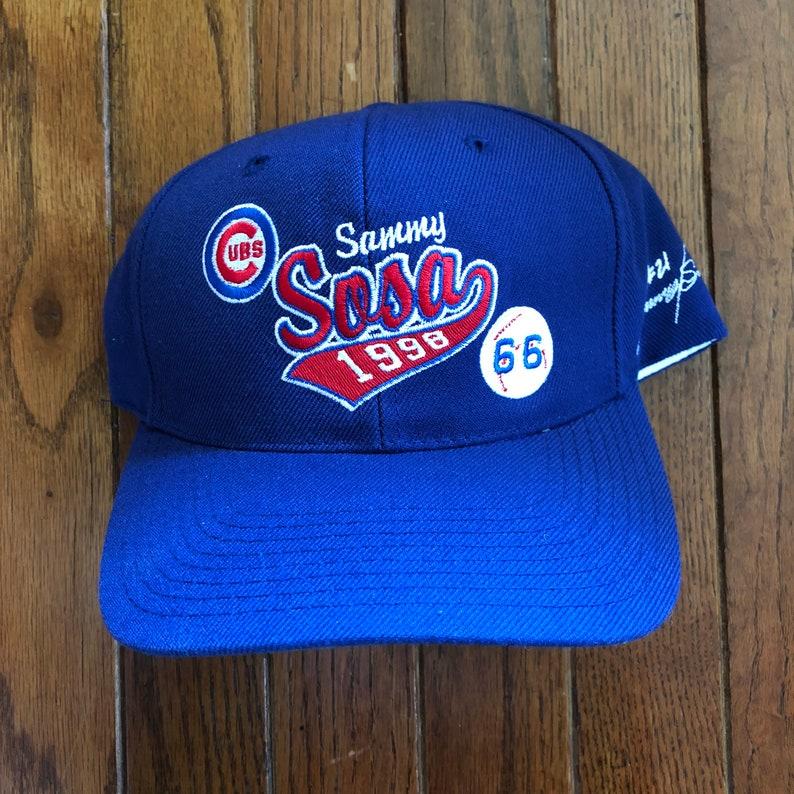 Vintage 90s Chicago Cubs Sammy Sosa Sport Specialties Script  045da46e0f50