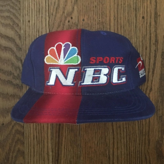 6cccc6f7a40 Vintage 90s Deadstock NBC Sports Sports Specialties Snapback