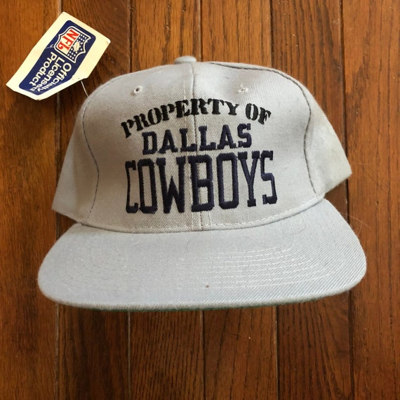 bf40633dd Vintage 90s Deadstock Property of Dallas Cowboys NFL New Era