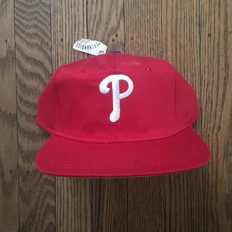 Vintage 90s Deadstock Philadelphia Phillies MLB Snapback Hat  29c113f9dcfe
