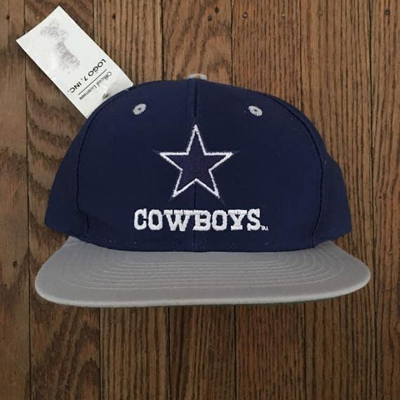 497ef945045 ... low cost vintage 90s deadstock dallas cowboys nfl snapback hat baseball  etsy 1e596 81ba1