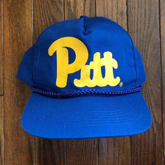 Vintage 90s University of Pittsburgh Pitt Panthers Snapback  adc82eccc