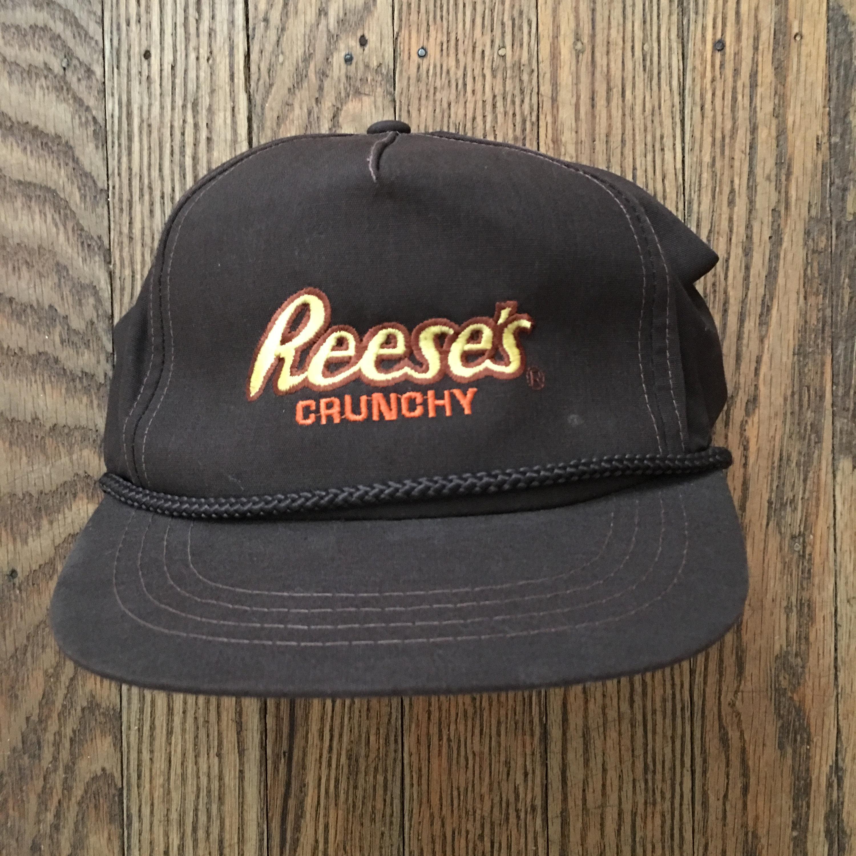 b3ce1e3b595 Vintage reeses crunchy peanut butter cups snapback hat baseball cap jpg  3000x3000 Reeses hat