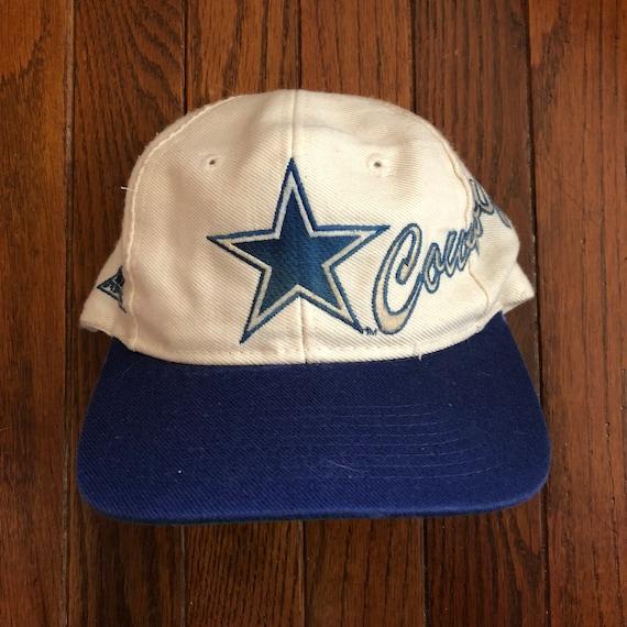 2e35dd7bd Vintage 90s Dallas Cowboys NFL Snapback Hat Baseball Cap