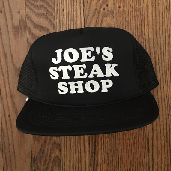 Vintage Joe s Steak Shop Mesh Trucker Hat Snapback Hat  6d08dcc73ca