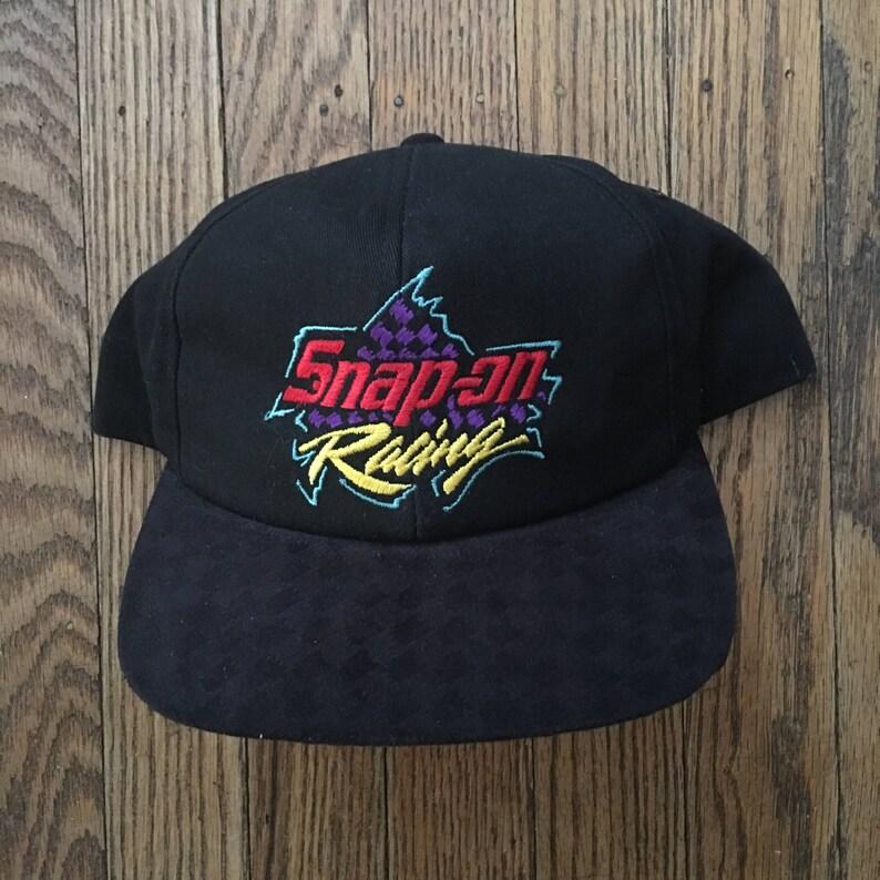 40e2d7932637d1 Vintage Snap-on Racing Tools Snapback Hat Baseball Cap | Etsy