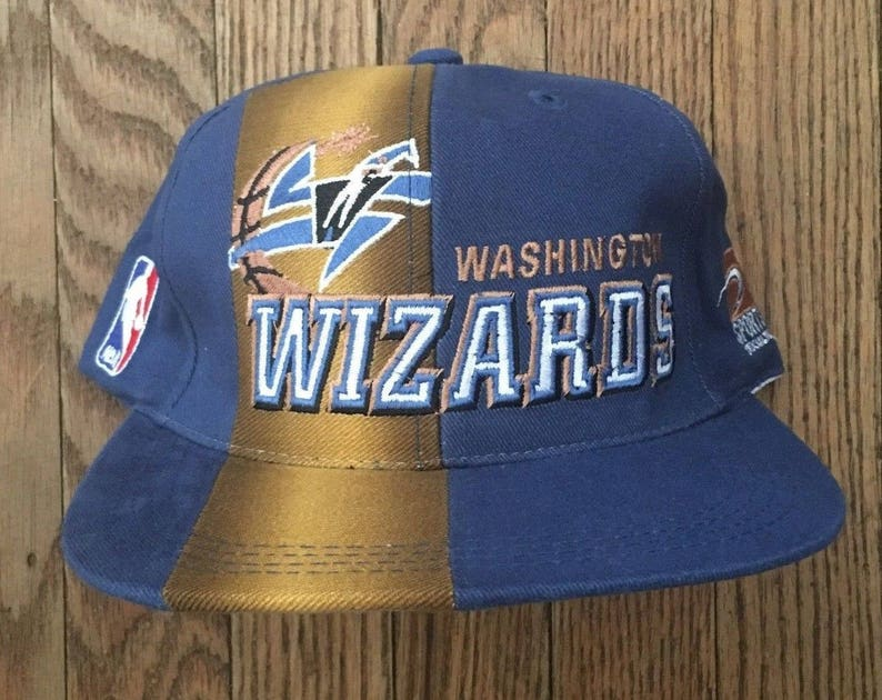 f882c363c1f Vintage 90s Washington Wizards Sports Specialties NBA Snapback