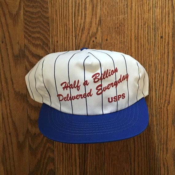 Vintage USPS United States Postal Service Snapback Hat  1f51db17735