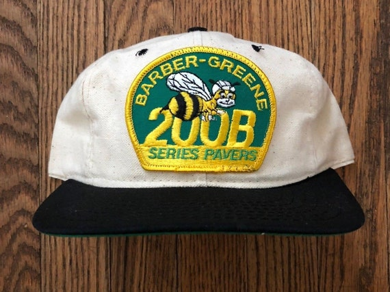 a574f8006d1 Vintage Cat Caterpillar Bee Snapback Hat Baseball Cap Patch