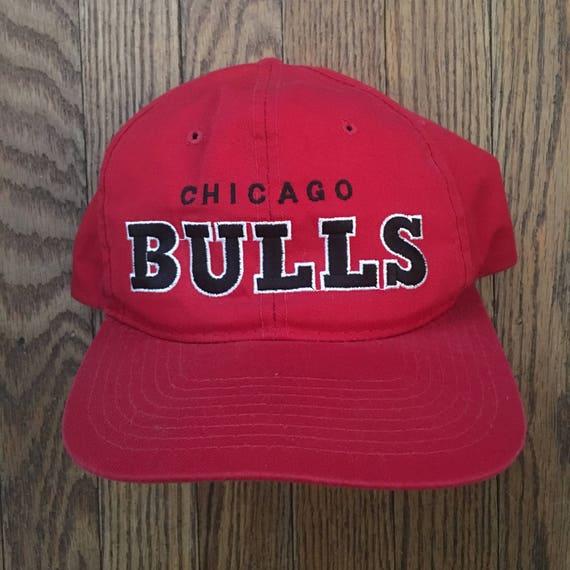 6c9f02b261f ... usa vintage 90s chicago bulls starter basketball nba snapback hat ca688  3e027