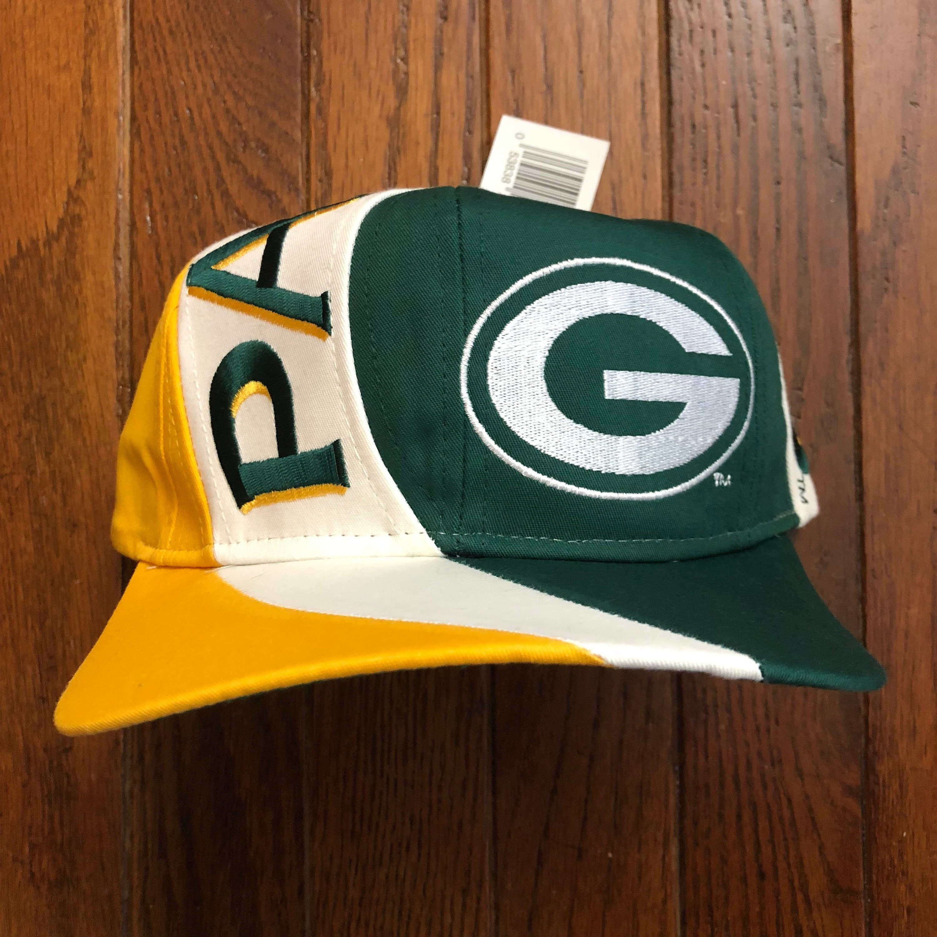 8077442d Vintage 90s Deadstock Green Bay Packers NFL Snapback Hat | Etsy
