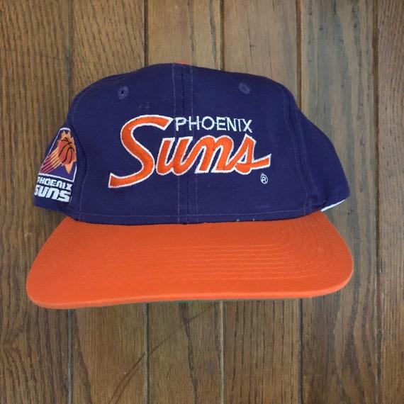 c069a79c545 Vintage 90s Phoenix Suns Sports Specialties Script NBA