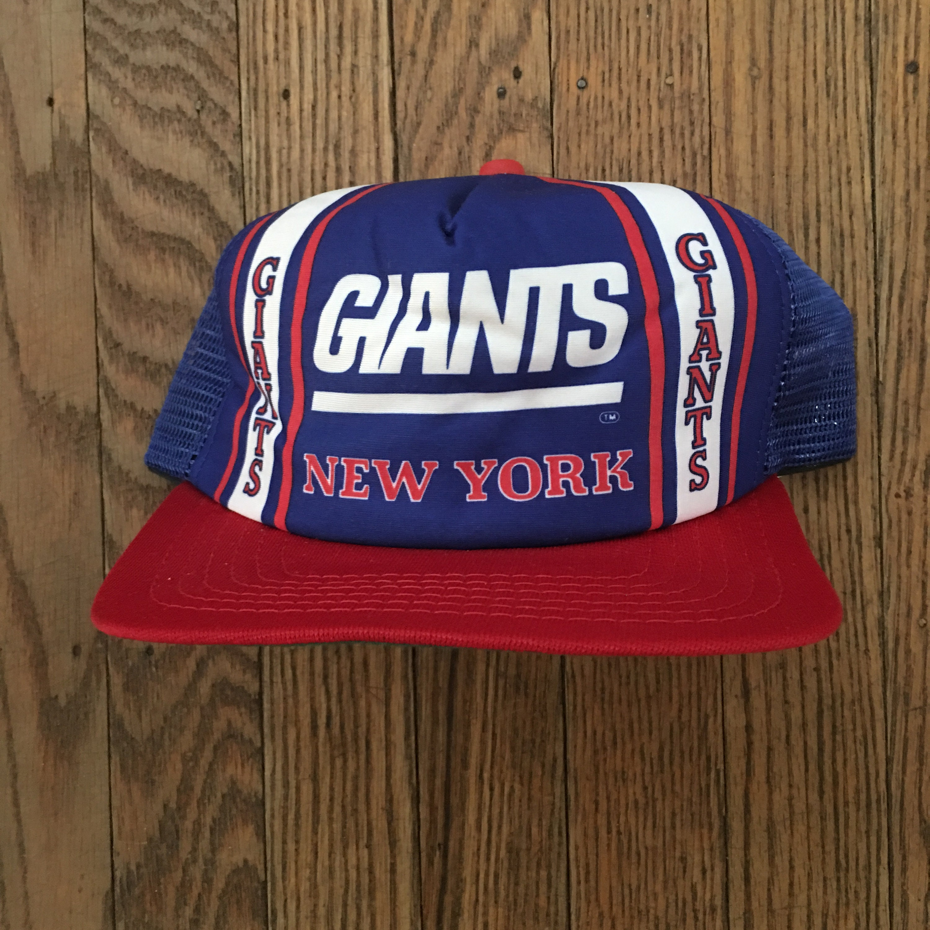 be3a6d33a Vintage 80s 90s Deadstock New York Giants New Era Pro Design