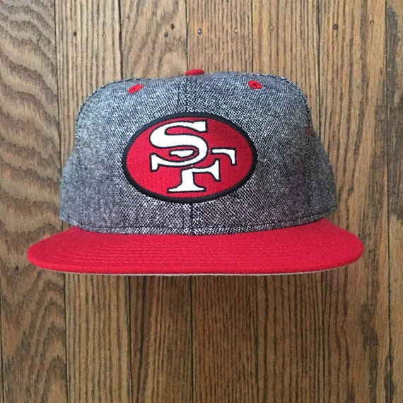 Vintage 90s Deadstock San Francisco 49ers NFL New Erea Snapback Hat  Baseball Cap   Made In USA 308a1c32e