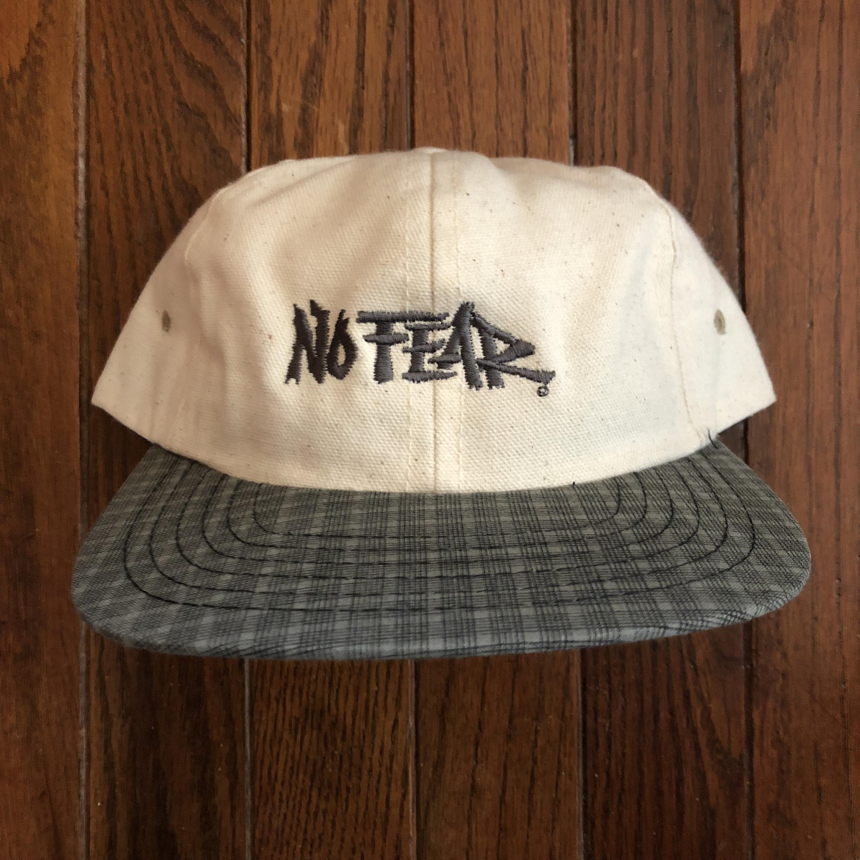 24f5c68ede5 Vintage 90s No Fear Snapback Hat Baseball Cap