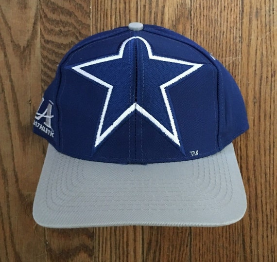d863b6e6d6ec65 Vintage 90s Logo Athletic Dallas Cowboys NFL Snapback Hat | Etsy