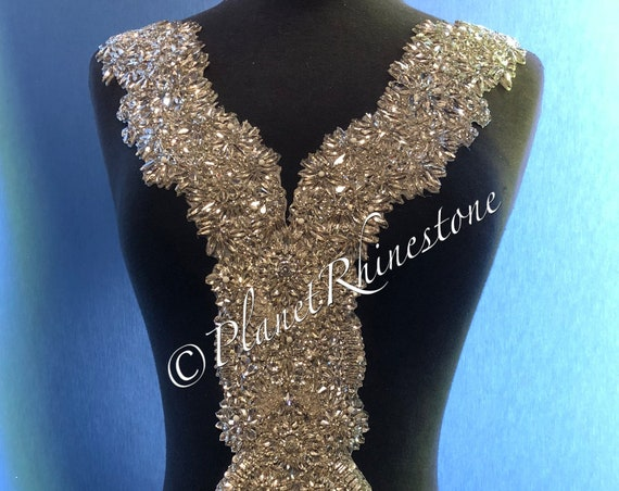 Tasha Crystal Beaded Bodice