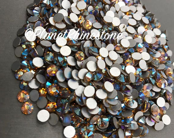 Light Topaz AB / 10 Gross / SS20 / Flat back / Egyptian Crystals