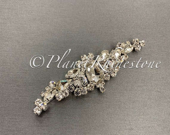 Silver Crystal Applique #AS-24