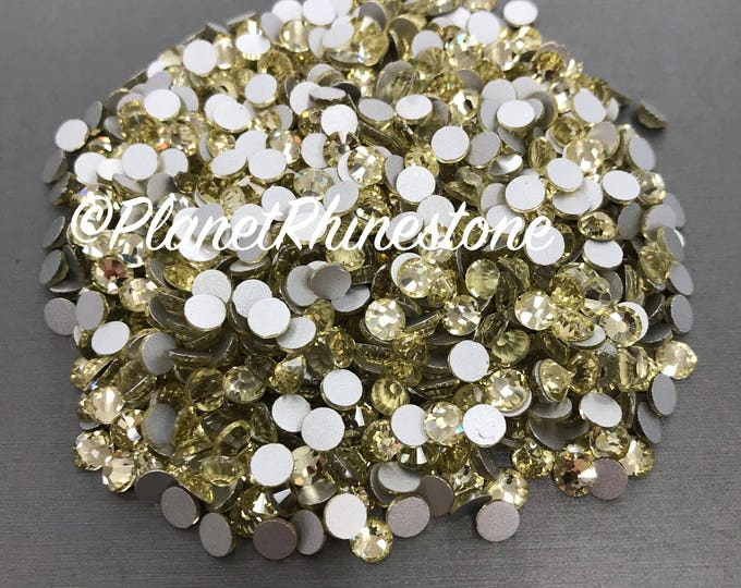 Jonquil-Yellow / 10 Gross / SS20 / Flat back / Egyptian Crystals