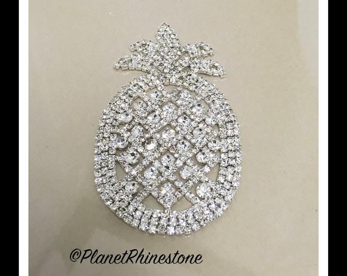 Rhinestone pineapple   -  Rhinestone fruit  #AF-3