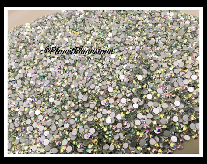 SS20 - AB - 100GR (14,400 PCS) Loose Glass Egyptian Rhinestones #L002 WHOLESALE