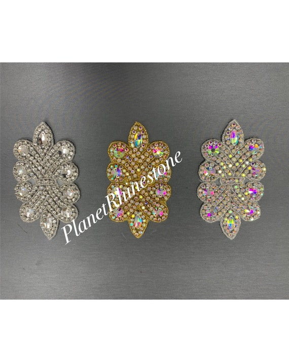 Iron on Crystal Applique