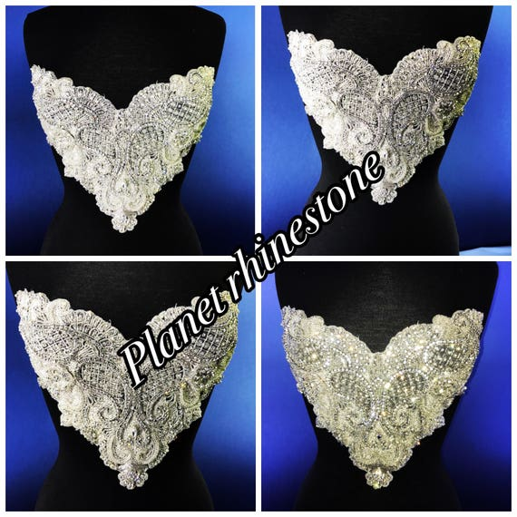 Sheena Rhinestone embridery applique