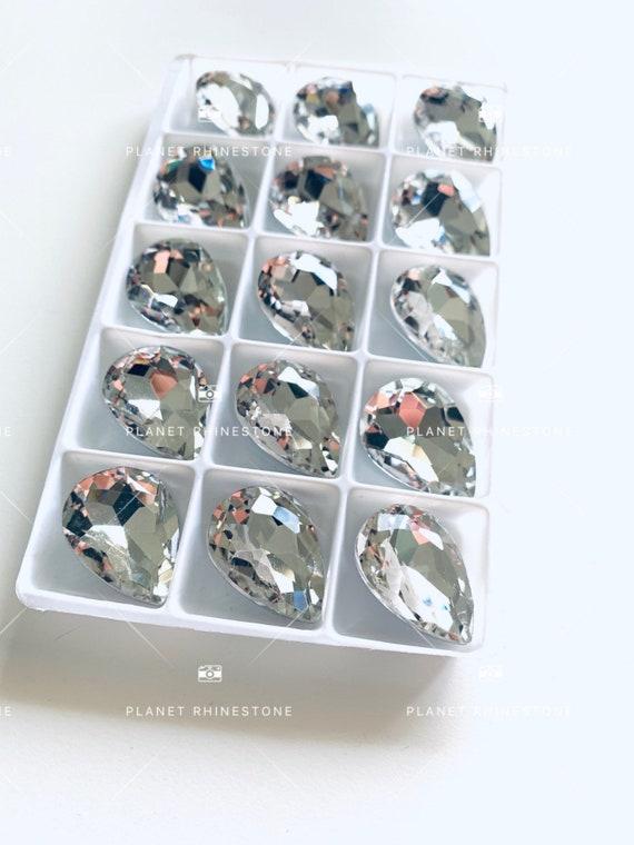 Tear Drop 18*25 Glass Stone (60PC/BOx)