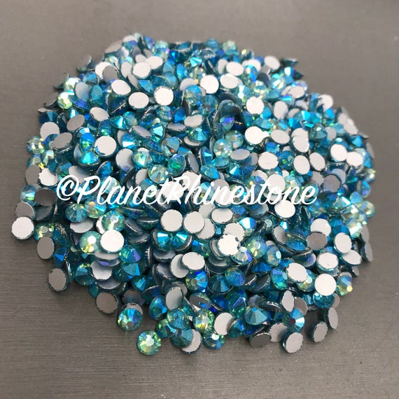 Aquamarine AB / 10 Gross / SS20 / Flat back / Egyptian Crystals