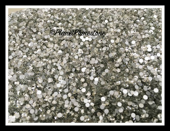 SS16 - Clear - 200GR (28,800 PCS) Loose Glass Egyptian Rhinestones #L001 WHOLESALE