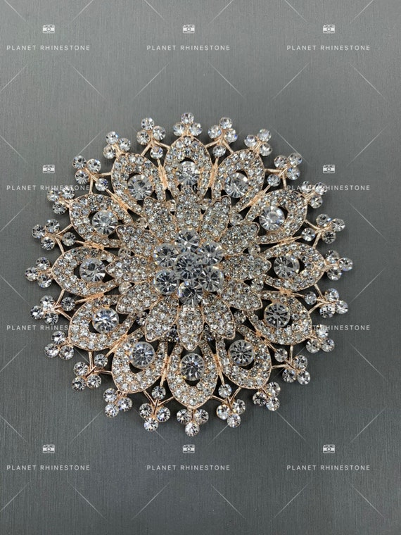 High Quality Rhinestone Brooch