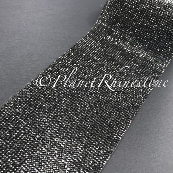 Hematite Iron-On Crystal Sheet #S004