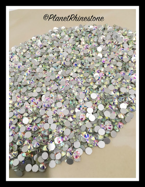 SS40 - AB - 25GR (3,600 PCS) Loose Glass Egyptian Rhinestones #L004 WHOLESALE