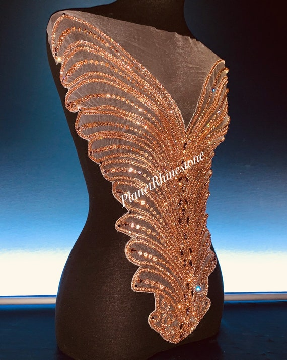 Rose gold bodice